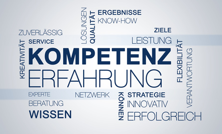 Word Cloud Kompetenz Erfahrung Business